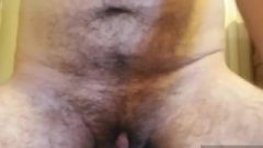 Hairy Ftm Wanks His Massive Clit And Destroys A Vibrator