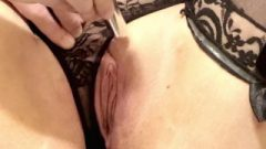 Extreme Closeup Huge Clit Edging W Multiple Orgasms, Contractions, And Grool