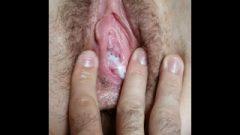 Closeup HD Teen Contracting Swollen Clit/Pussy Rubbing/Leaking Grool