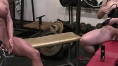 Three Female Bodybuilders Have A Huge Clit Pumping Party In The Gym