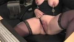 Big Clit Masturbation Webcam 2 (w Squirt)