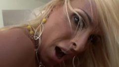 Huge Boobs Blonde Bimbo Holly Halston Desires Cum!