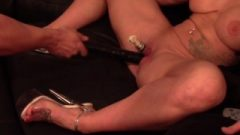 Clit Fill Multiple Orgasm Massive Tit Milf Ruined With Massive Toy