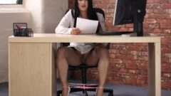 Pink Lace Panties On A Female Reading A Filthy Story