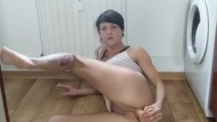 Homemade Analt Toying And Smoking Young