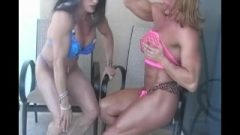 Lynn Mccrossin And Debra D'andrea Clitoris Pumping